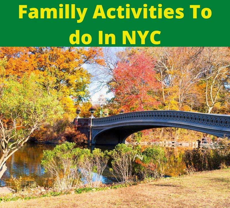 family activities to do in NYC